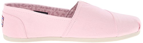LOVE BOBS Light amp; Women's PLUSH PEACE Slip Pink Ons Skechers nFgPqfxw