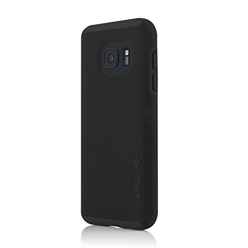 (Samsung Galaxy S7 case, Incipio DualPro, Hard Shell Case with Impact-Absorbing Core Shock-Absorbing Impact-Resistant Dual-Layer Cover - Black/Black)