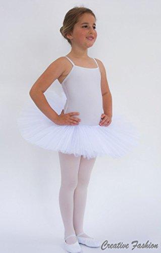 Kostov Sportswear Tutu für Kinder, Ballettrock, Ballettkleid für Mädchen in versch. Größen
