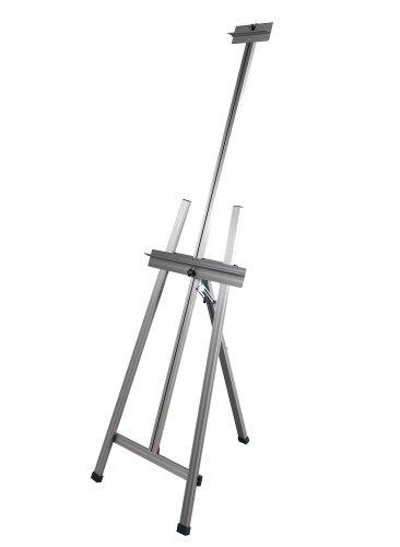 Martin Universal Design Ambiente Dezign A-Frame Aluminum Easel, 52-82 H x 22.75 W x 45 D Inches, 1 Each (92-20505)