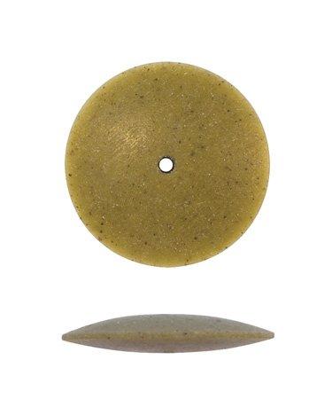 Pumice Wheel, Knife Edge, Medium Grit, 7/8 Inch, Pack Of 12 | POL-360.20