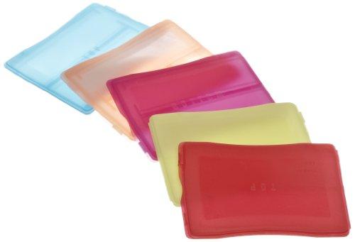 Heathrow Scientific HD15983A Polypropylene Slide Mailer, Assorted Colors, 2 Place, 3