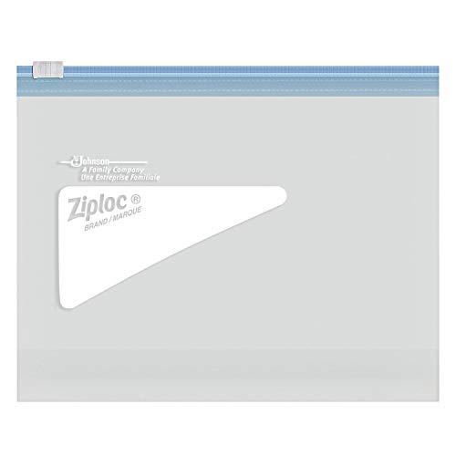 Ziploc Double Zipper Quart Freezer Bags, 216 Count - http://coolthings.us