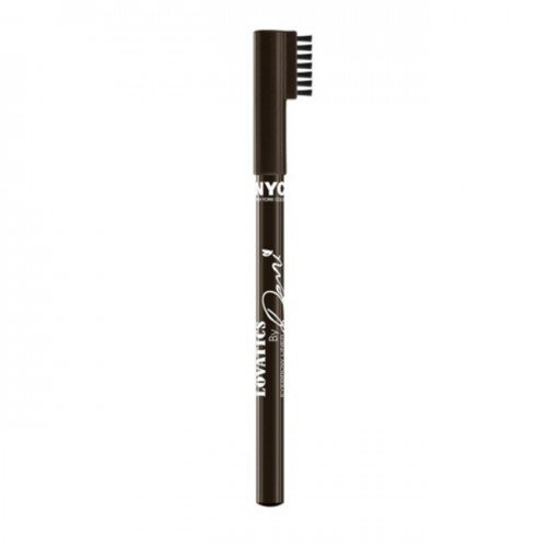 NYC Lovatics by Demi Eyebrow Pencil - Dark Brown by N.Y.C.