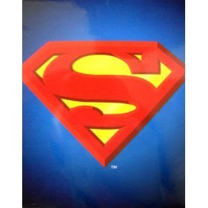 - JP Import Corp Superman Shield Queen Blanket Standard