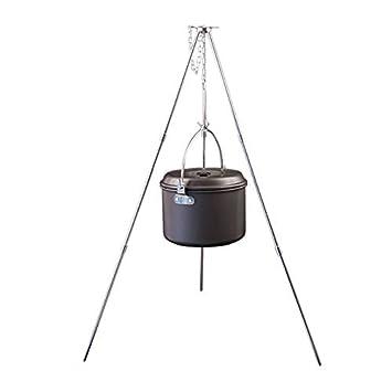 Amazon.com: J&T Trípode Campfire Parrilla Colgador Cocina ...