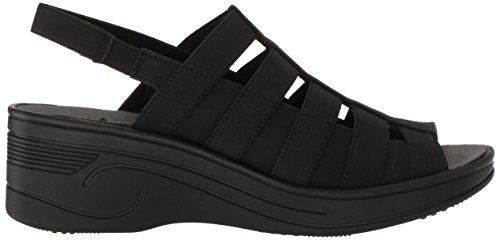 Easy Street Kvinners Floaty Kile Sandal Sort / Gore