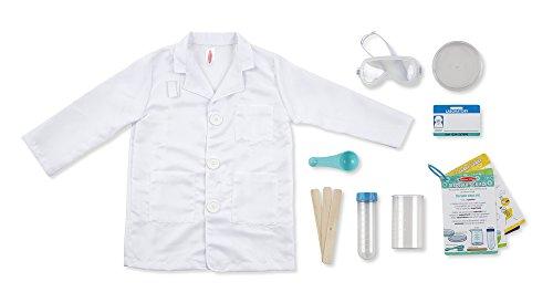 Melissa Amp Doug 18536 Scientist Role Play Costume Set White