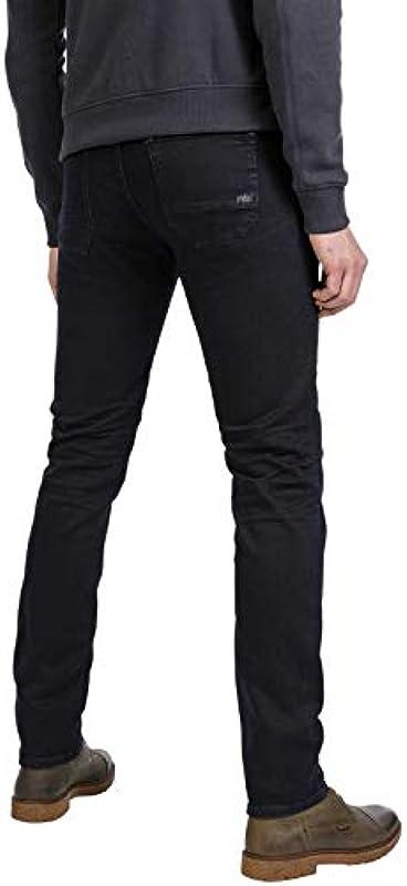 PME Legend Navigator stretch denim męskie dżinsy Blue Night wash - wąski 36W / 30L: Odzież