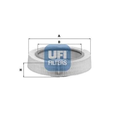 Ufi Filters 30.931.00 Air Filter: Automotive