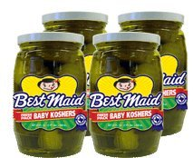 Best Maid Baby Koshers 22 oz (Kosher Pickled Pickles)