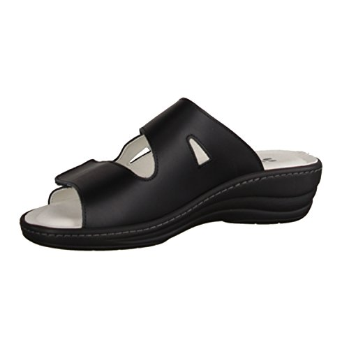 LIROMED Black Thong Sandals Women's BLACK SASw8q0x