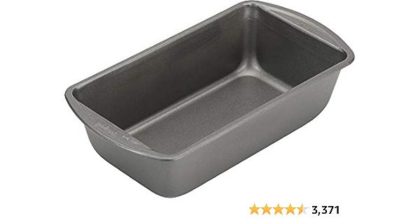 Good Cook 4026 Nonstick Bakeware, 9 x 5 Inch, Gray