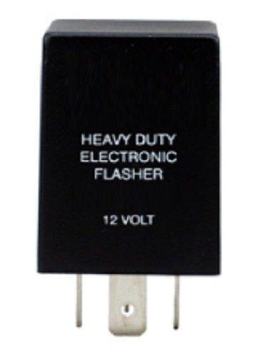 Memotronics ELF26L Turn Signal Flasher Relay, LED Compatible, 4 Prongs, 12 Volts