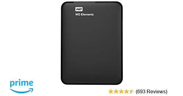 WD 2TB Elements Portable External Hard Drive - USB 3.0 - WDBU6Y0020BBK-WESN