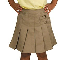 French Toast Uniforms Girls' Scooter Skort (Black 10)