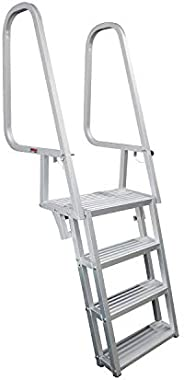 Extreme Max 3005.4116 Deluxe Flip-Up Dock Ladder