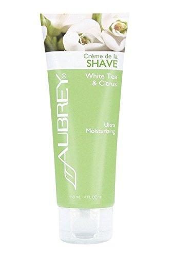 Aubrey Organics Shaving Cream (White Tea & Citrus Shave Cream Aubrey Organics 4 oz Cream)