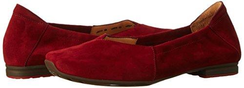 Women's Ballet Think Flats rosso 70 Beige Red Gaudi BqxdFwxEO