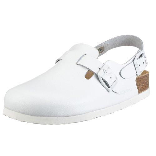 UK Clogs Adults' Dr Brinkmann White 603011 Unisex 12 wqw0Pv4n