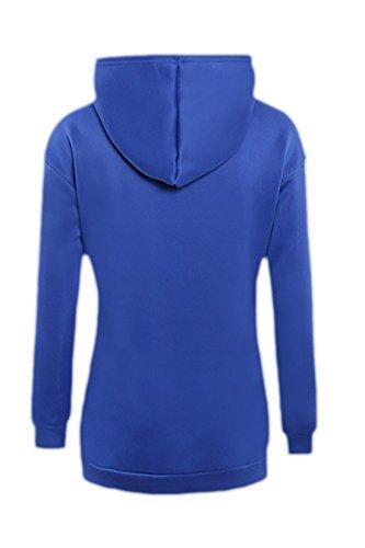 erdbeerloft -Sudadera Mujer  Opaco Azul