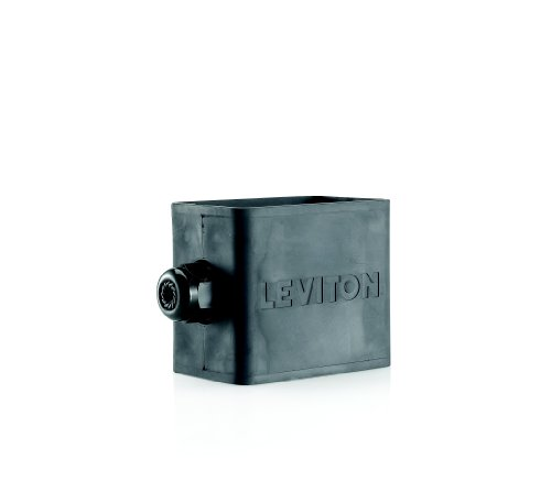 Leviton 3059-1E Portable Outlet Box, Sing-Gang, Standard ...