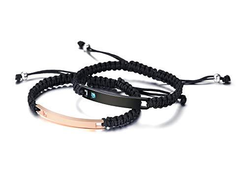 Pj Jewelry Personalized Custom His And Hers Handmade Rope