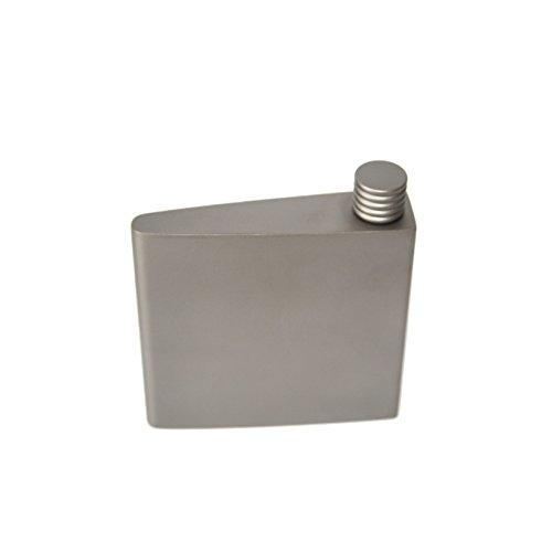 Titanium Mini Flask Titanium liquor can Titanium Hip-flask Titanium Flagon / canteen / water bottle from Top - Titanium Can