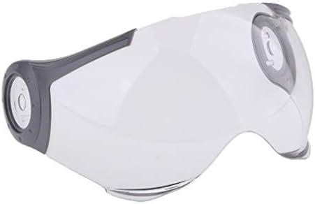 ヘルメットバイザー ヘルメットパーツ 交換部品 取り外し可能 紫外線防止 パウロ530ヘルメットバイザーに対応 - クリア