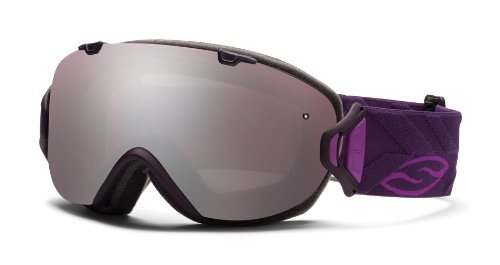 Smith Optics I/OS Goggle (Shadow Purple Riviera Frame, Ignitor Mirror Lens), Outdoor Stuffs