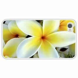 Case For Iphone 6 4.7Inch Cover Customized Gifts Flowers tropical plumeria desktop White Hard PC Case