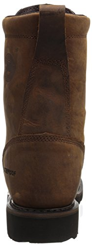 Work Workboot Wyoming Waterproof Worker Men's Toe Justin Brown Steel Original Ii SwUqpxUnZ5