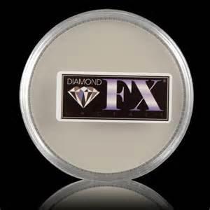 Diamond Fx 45g White Face Paint (Diamond Paint Fx White Face)