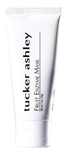 tucker ashley Fruit Enzyme Mask, All Natural Skin Detox Peel, Contains Fruit Enzymes,Gentle Exfoliator, Good for Sensitive Skin, 2oz