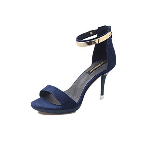 Sandalias Para Taco Mujer 80Off Strappy Alto De Zapatos 7bmvYI6yfg