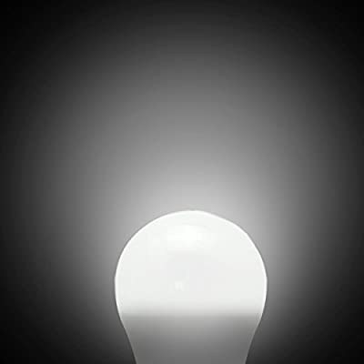 BRTLX LED Light Bulb E26 Screw LED Bulbs, CRI80+, Non-Dimmable 4-Pack (5W,12W)