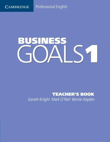 Business Goals 1 Teacher's Book