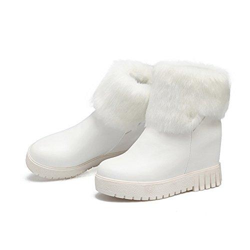 AdeeSu Plateforme Femme Blanc Blanc Sxc02623 36 5 5r65gqaxw
