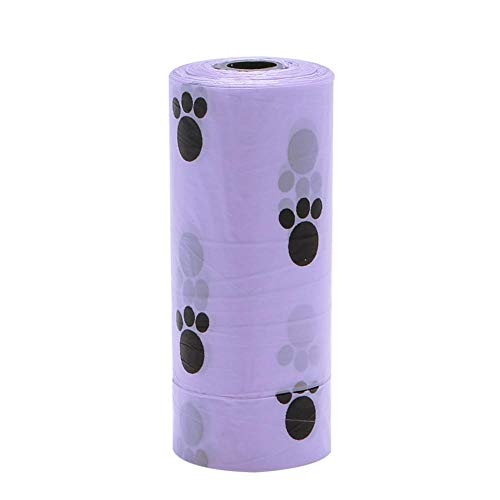 - Phones Accessories - 5roll Multicolor Pet Dog Waste Poop Bag Poo Printing Degradable Clean Up - Girls Phones Events Beauty Case Electronics Home Accessories Cell Weddings Health Sports Compu