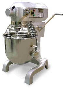 Omcan SP200AT 20 Qt Planetary Dough Mixer With Timer and ...