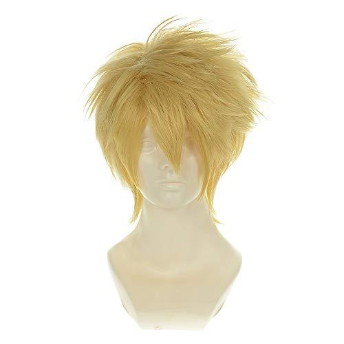 amnesia toma light gold versatile cupola halloween wigs synthetic wigs costume wigs Halloween