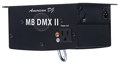American Dj Mb Dmx Ii Dmx Controllable Mirror Ball Motor from American DJ Group of Companies