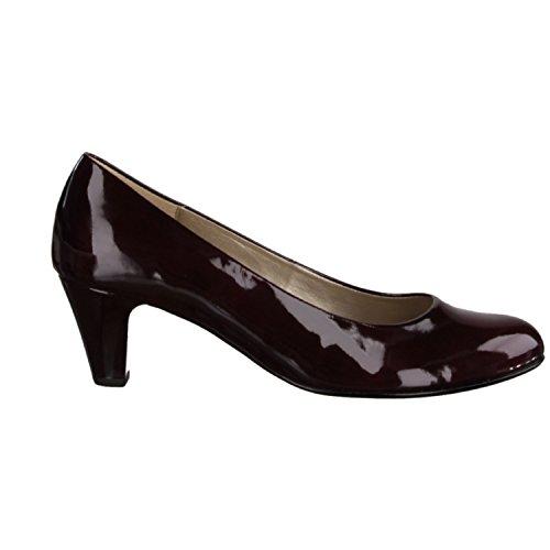 Gabor Damen Pumps - Lack Rot Schuhe in Übergrößen