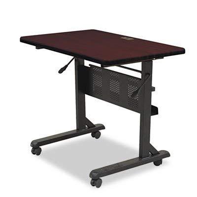 BALT Flipper Training Table Base, Flipping L-Leg, 60w x 24d x 29-1/2h, Black Four casters Unit of measure: EA, Manufacturer Part Number: 89781 by BALT® ()