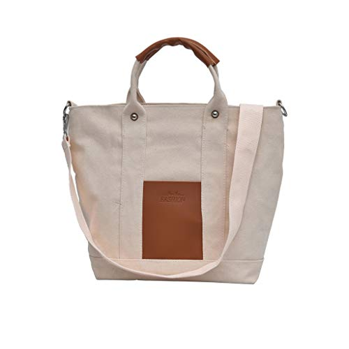 (LUXISDE Women Ladies Fashion Solid Large Capacity Shoulder Tote Handbag Casual Bag)