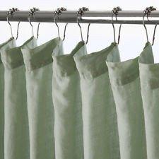 Waterworks Cumulus Shower Curtain 72 X In Sage Amazoncouk Kitchen Home