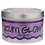 Zum Glow Lavender Soy Candle, Health Care Stuffs