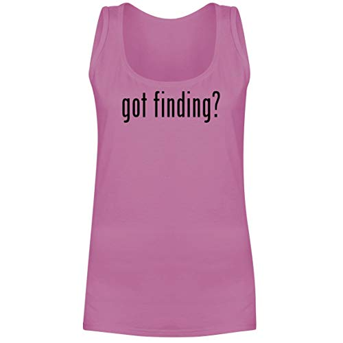 The Town Butler got Finding? - A Soft & Comfortable Women's Tank Top, Pink, Large -