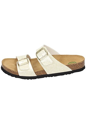 Dr. Brinkmann Mujeres Footbed Zapatos Gold Gold