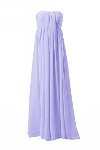 Daisyformals Parole Longueur Robe De Demoiselle D'honneur En Mousseline De Soie (bm2404) # 7-lavande